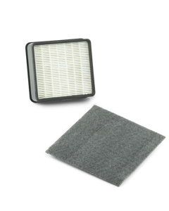 HEPA Media and Secondary Filter Set for Mid-Size Canister Vacuums